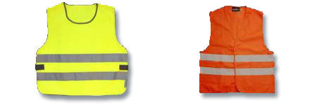 warning vests exmaple